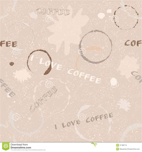 seamless pattern text grunge coffee seamless pattern with text stock images