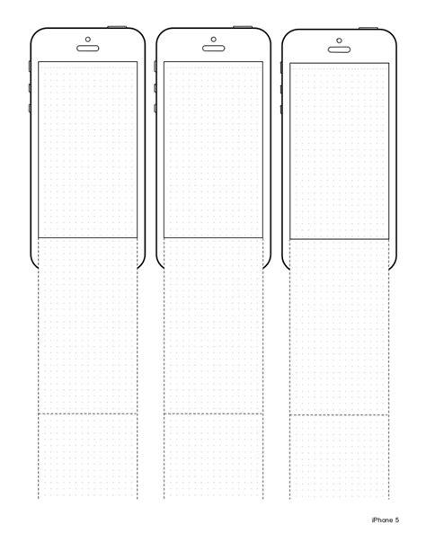 iphone design template iphone 5 design template