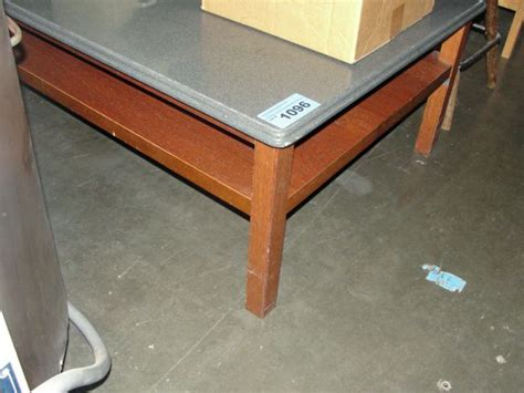 Coffee Table Bases For Granite Tops Grey Faux Granite Top With Wood Base Coffee Table