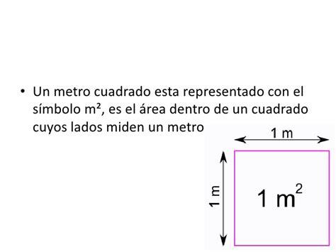 simbolo metro cuadrado metro cuadrado