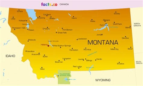 map of montana state map of montana cities images