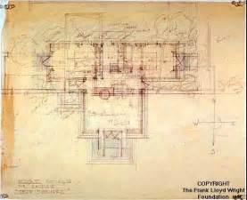 Frank Lloyd Wright Plans A M Johnson Desert Compound Frank Lloyd Wright