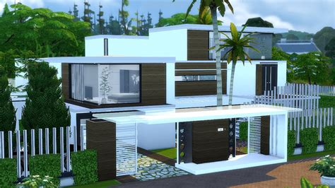BEST MODERN HOUSE The Sims 4   Villa Mansion   My Building