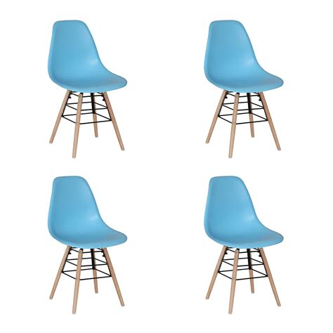 Bright Coloured Dining Chairs River Bright Coloured Dining Chairs Blue Set Of 4 Unique Furnishing