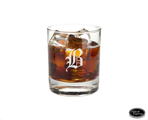 Handmade Whiskey Glasses - custom whiskey glass ships fast personalized rocks glass