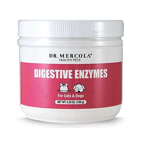 Cat Detox Enzymes by Dr Mercola Digestive Enzymes For Pets Dietary