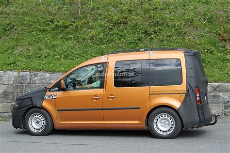 volkswagen caddy 2015 new volkswagen caddy spied testing for 2015 launch