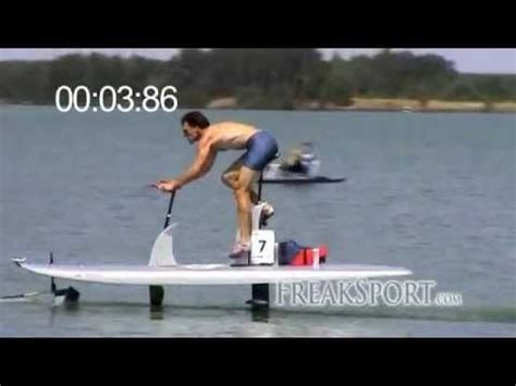 boat mechanic lake of the ozarks waterbike hydrofoil 100m sprint in 14 11s youtube