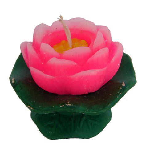 lotus candle for buddha altar