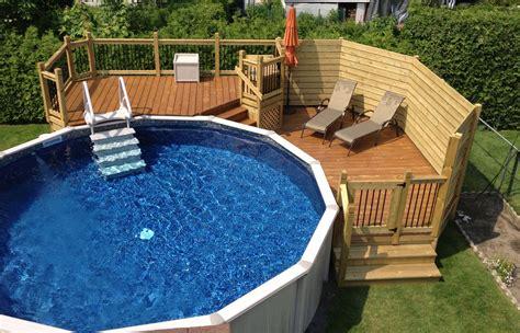 patio sol extraordinaire deck de piscine hors sol bji77 slabtownrib