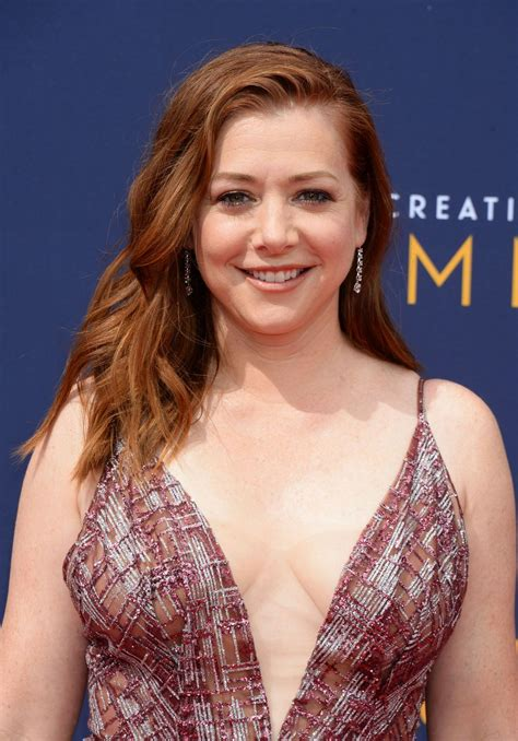 alyson hannigan alyson hannigan 2018 creative arts emmy awards in la