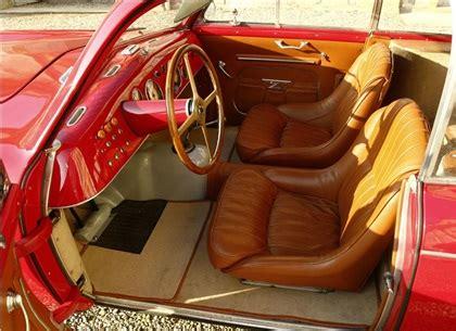 maserati a6gcs interior 1949 maserati a6g 1500 panoramica zagato studios