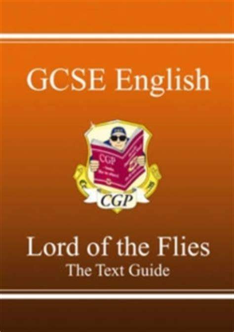lord of the flies gcse themes gcse english text guide lord of the flies cgp books