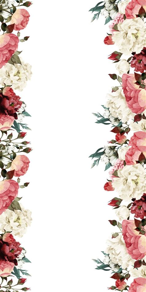 Flowery Top best 25 floral border ideas on watercolor