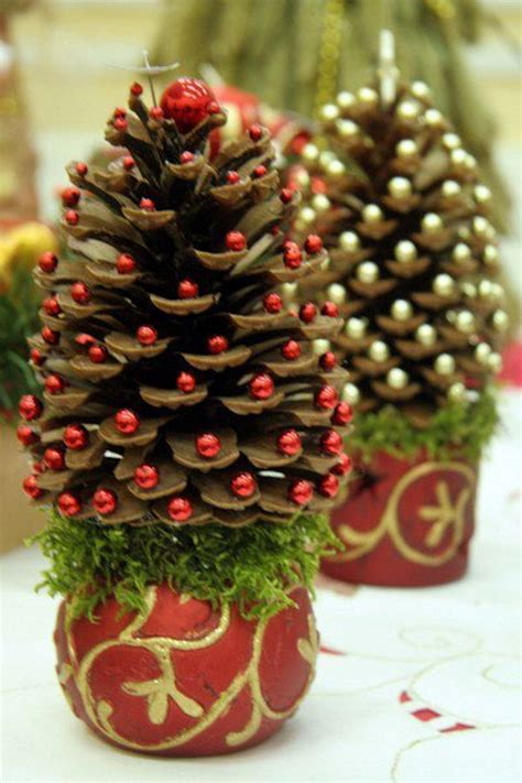 pine cone christmas trees pictures   images