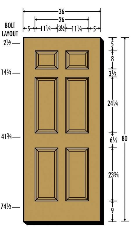 door dimensions interior door interior french door