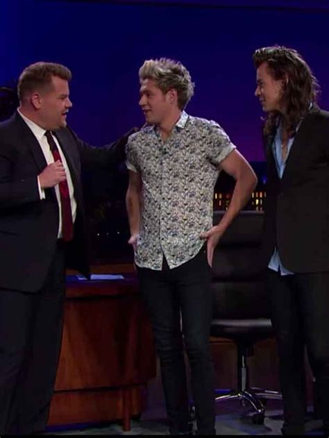 james corden tattoos 1d and harry styles played with corden
