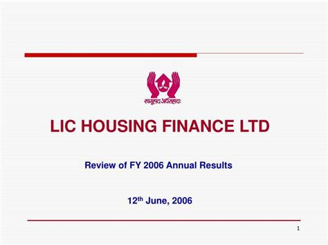 lic housing loan review ppt lic housing finance ltd powerpoint presentation id 4456900