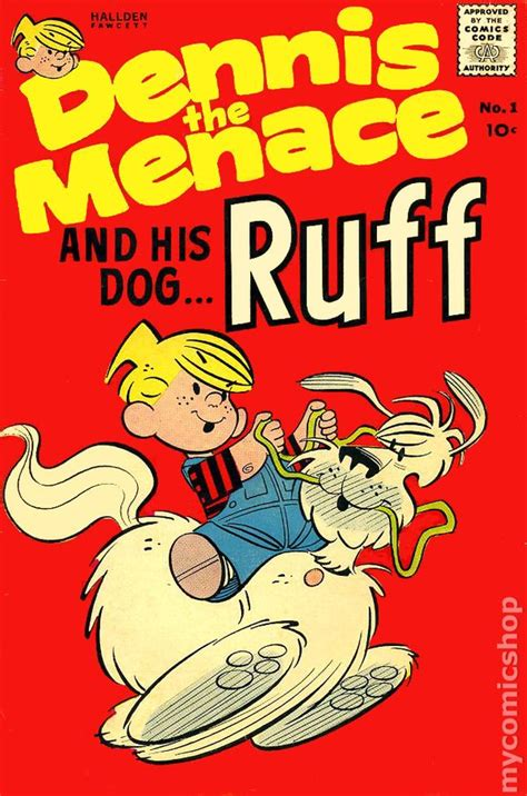 ruff books dennis the menace and his ruff 1961 comic books