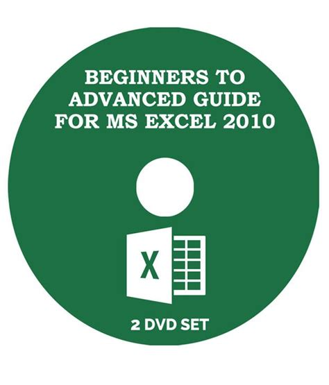 learn microsoft excel 2010 pdf learn ms excel 2010 from beginner to advanced level 2 dvd