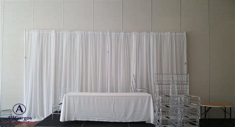 Wedding Backdrop Mississauga by Allcargos Tent Event Rentals Inc Basic Table Backdrop
