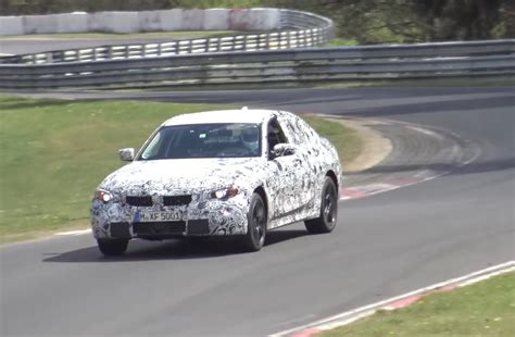 2018 bmw g20 3 series spied on nurburgring electric