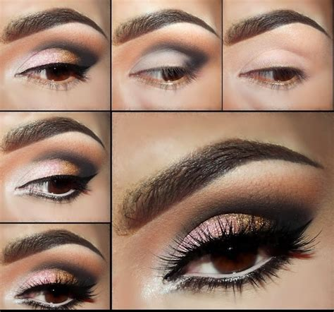 tutorial for eyeshadow smokey eye makeup tutorial step by step style arena