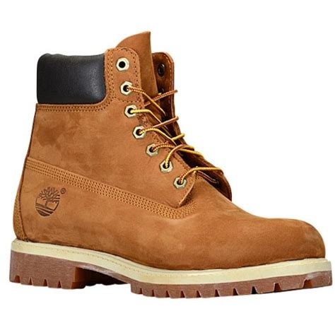 timberland boots for mens footlocker timberland 6 quot premium waterproof boots s casual