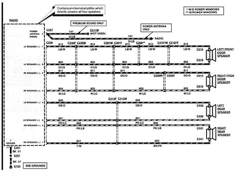 1995 ford taurus wiring diagram 31 wiring diagram images