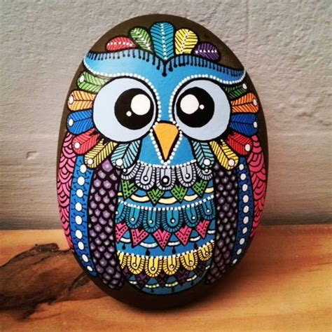 Craft Ideas To Decorate Home you can paint stones and decorate your home and garden