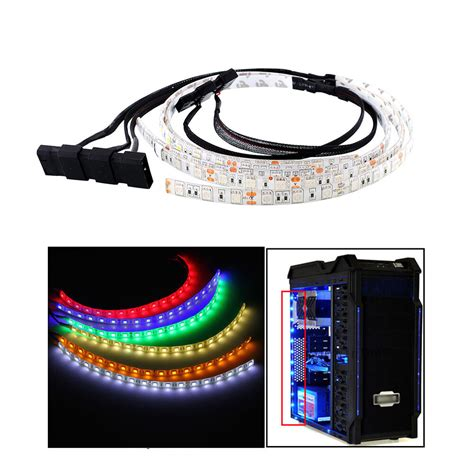 computer led light strips 60cm bright led light for pc computer l