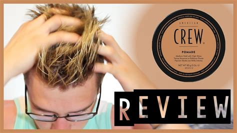 Pomade American american crew pomade review
