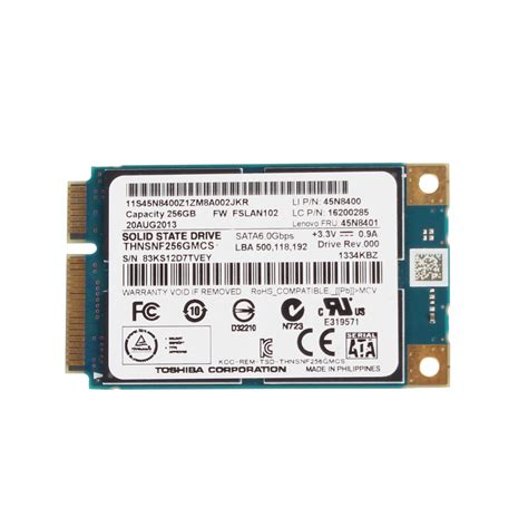 Asus Laptop Samsung Ssd toshiba solid state drive ssd 256gb msata thnsns256gmcp for asus samsung acer hp ebay
