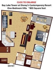 Wilderness Lodge Villas Floor Plan review bay lake tower at disney s contemporary resort