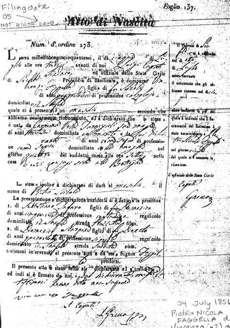 Foggia Italy Birth Records Related Keywords Suggestions For Italian Birth Records