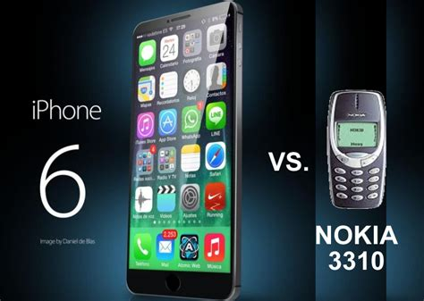 iphone 6 themes for nokia iphone 6 vs nokia 3310