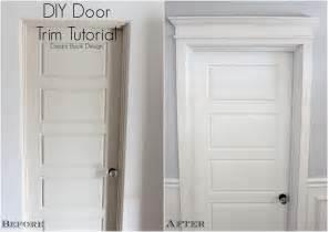 diy door trim tutorial book design