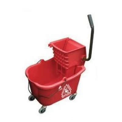 bathroom mops red hospital bathroom mop bucket