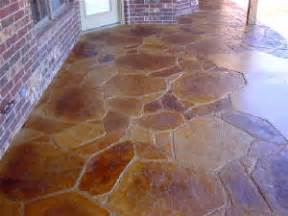 sted concrete patio cost flagstone sted concrete