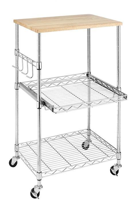 Microwave Utility Kitchen Cart by Microwave Utility Cart Decor Ideasdecor Ideas