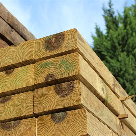 planed all bevelled treated softwood sleeper buy