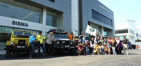 land rover malaysia jaguar land rover malaysia hosts landy de langkawi convoy