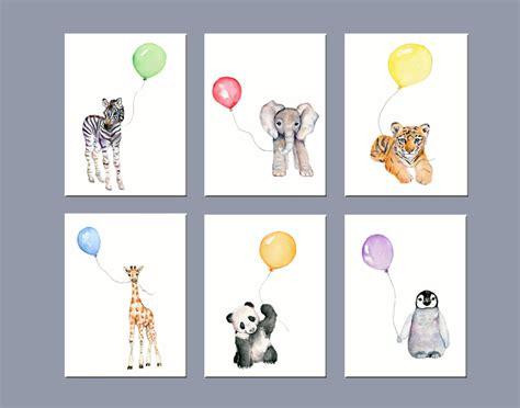 Animal Wall Decor For Nursery Nursery Animals Nursery Wall Decor Zoo Animal Nursery