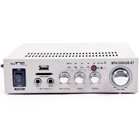 line eingang stereo karaoke verst 228 rker 100w usb mp3 bluetooth sd