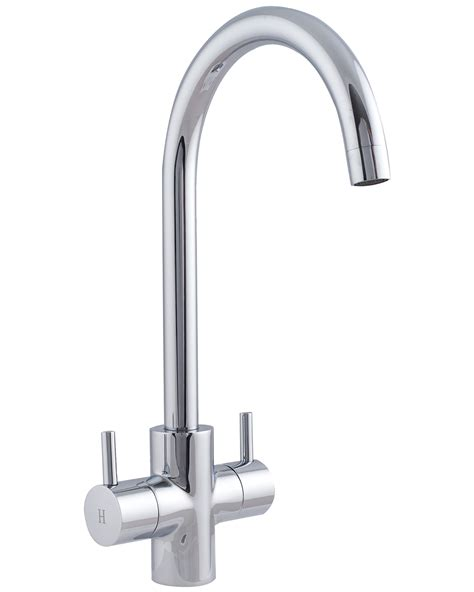 monobloc mixer taps kitchen sink astracast shannon monobloc twin lever kitchen sink mixer
