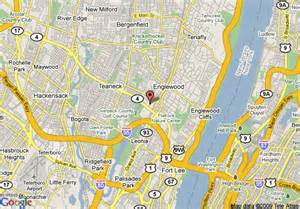 Englewood Nj Map Of Crowne Plaza Englewood Englewood