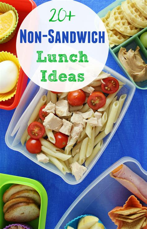 non sandwich lunch ideas the shirley journey