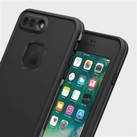 Iphone 7 7 Plus Ory Waterproof Casing Cover Anti lifeproof fre iphone 7 plus waterproof black