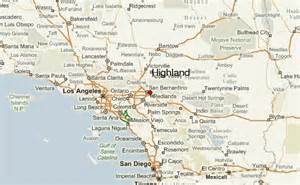 highland california map highland location guide