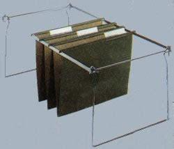 Hanging File Frames for Vertical File Cabinets